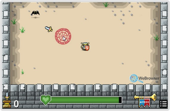 HTML5-игра Onslaught